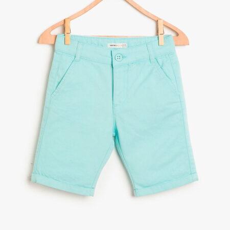 Koton shorts boy biruza 48192 instargam chadomoda 1200x1200 1 opt 1 450x450 - Шорты