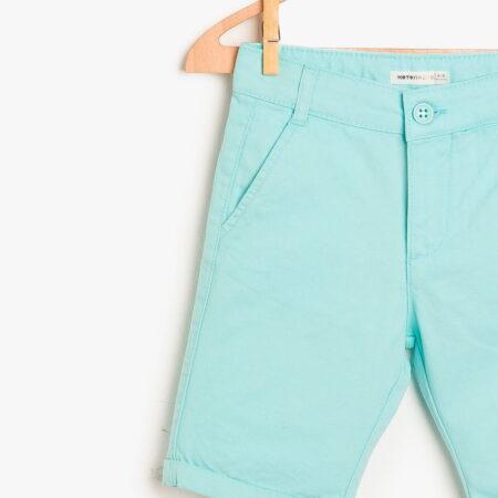 Koton shorts boy biruza 48192 instargam chadomoda 1200x1200 3 opt 1 450x450 - Шорты