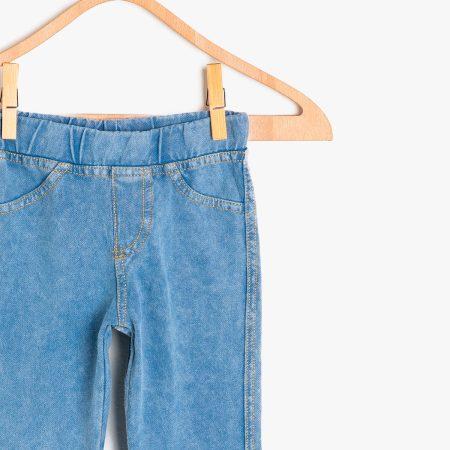Koton leggings 9KKG47948OK720 girl blue chadomoda 1200x1200 3 opt 1 450x450 - Леггинсы