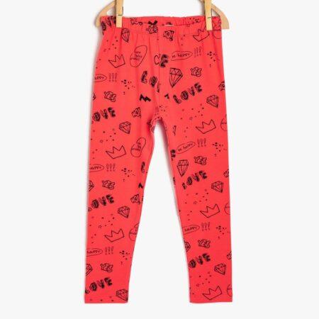 Koton leggins 9KKG47189AK02E girl red chadomoda 1200x1200 1 m 450x450 - Леггинсы