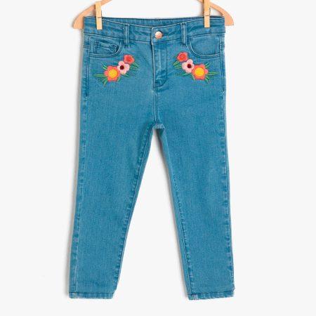 Koton jeans 9KKG47015ODFD3 girl blue chadomoda 1200x1200 1 opt 450x450 - Джинсы